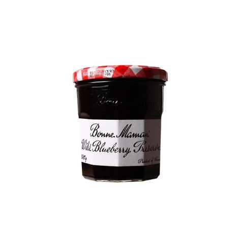 BONNE MAMAN Wild Blueberry Preserves Jam 370G ( BM02012 )