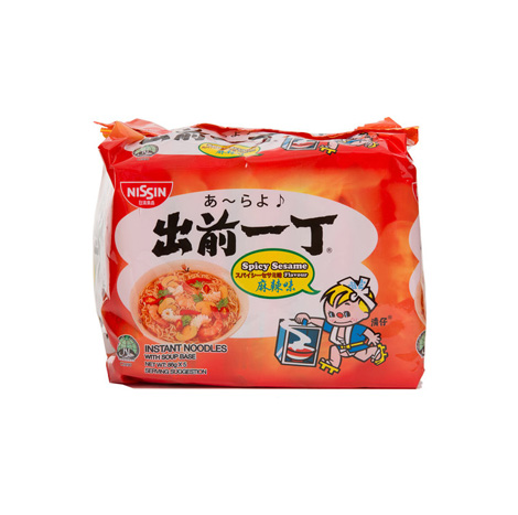 NISSIN CQYD INST NOODLE SPICY SESAME (5'S/86G)