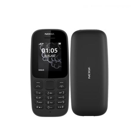 Nokia 105 Keypad (4MB) Black