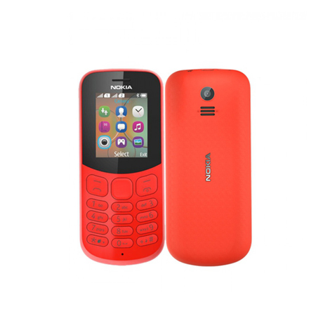 Nokia 130 Keypad, Red