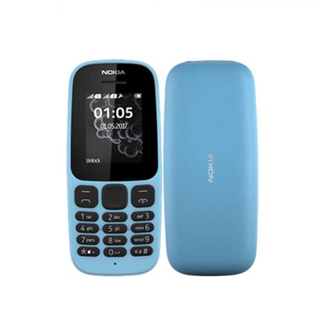 Nokia 105 Keypad (4MB) Blue