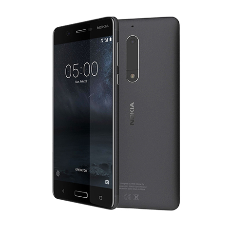 Nokia 5 Smart Phone (2GB, 16GB) Black