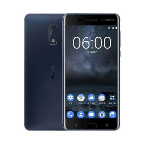 Nokia 6 Smart Phone (3GB, 32GB) Blue