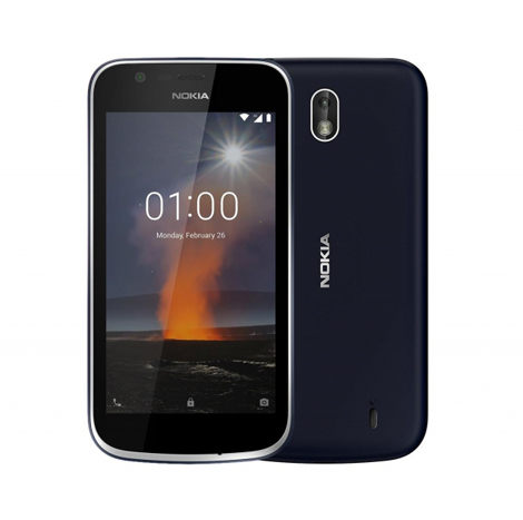 Nokia 1 Smart Phone (1GB, 8GB) Blue