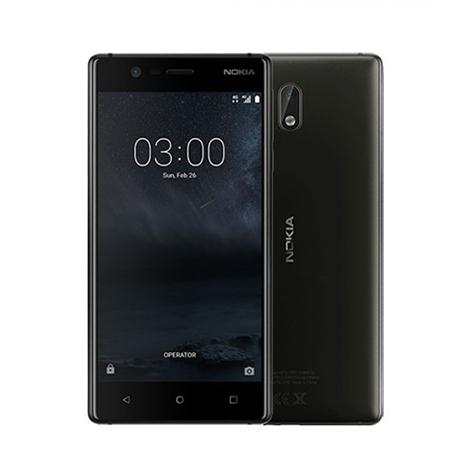 Nokia 3 Smart Phone (2GB, 16GB) Black