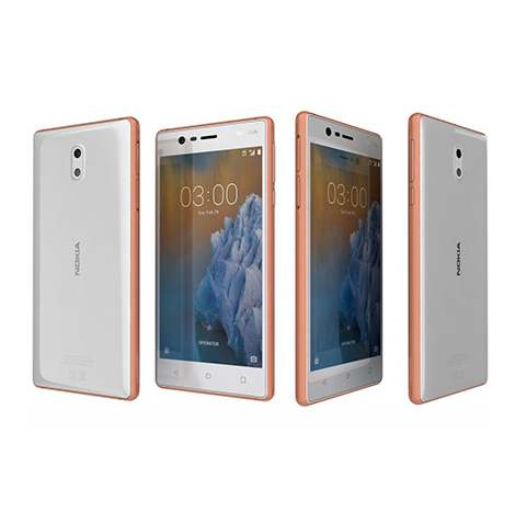 Nokia 3 Smart Phone (2GB, 16GB) Copper White
