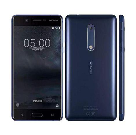 Nokia 5 Smart Phone (2GB, 16GB) (TA-1053), Blue