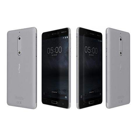 Nokia 5 Smart Phone (2GB, 16GB) (TA-1053), Silver