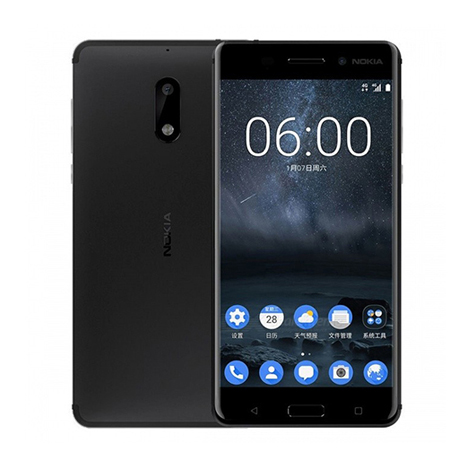 Nokia 6 Smart Phone (3GB, 32GB) Black