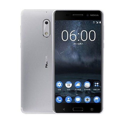 Nokia 6 Smart Phone (3GB, 32GB) Silver