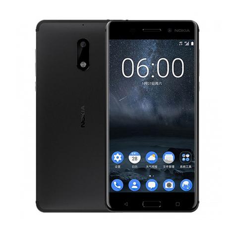 Nokia 6 Smart Phone (3GB, 32GB) Black