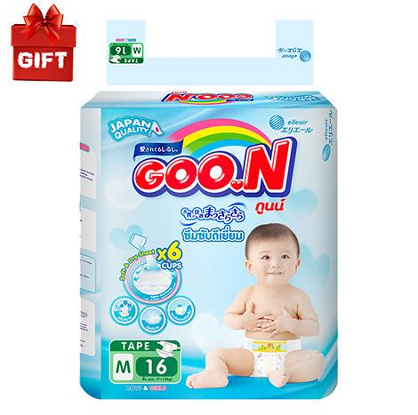 GOO.N Regular Pack Thai Tape Msize 16pcs