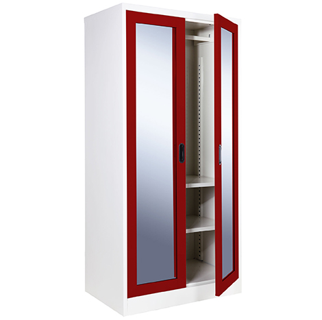 KIOSK Open Glass Door Wardrobe ( OGW-18/2 )