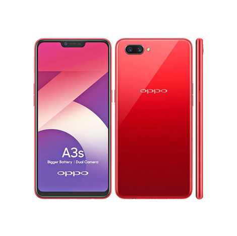 Oppo A3s (16 GB, 2 GB) Red
