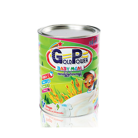 Gold Power Baby Meal (Rice & Milk ) - 800g (GP8)