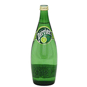 PERRIER Sparkling Natural Mineral Water (LIME Flavour) 330ml