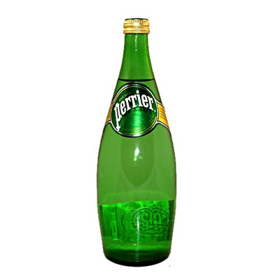PERRIER Sparkling Natural Mineral Water (750ml)