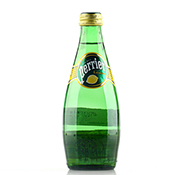 PERRIER Sparkling Natural Mineral Water (LEMON Flavour) 330ml
