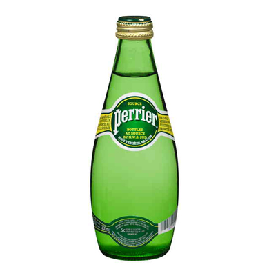 PERRIER Sparkling Natural Mineral Water (330ml)