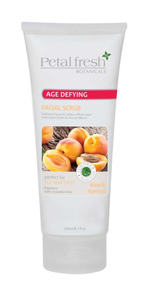 Petal Fresh Botanicals Age-Defying Aloe & Apricot Facial Scrub 50% Alpha Beta Chemical Peel