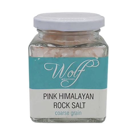 Wolf Pink Himalayan Rock Salt (Coarse Grain) 250g