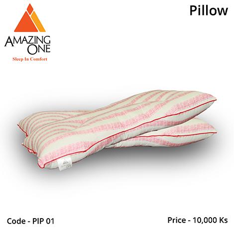 Amazing One Colour Stripe Pillow (PLP01)