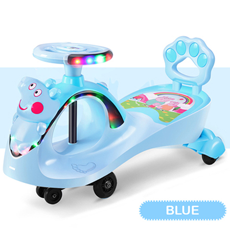 Peppa Pig Ride On Push Along Music Lighting Car Toy 1-3 YRS Children Vehicle (PP6166)