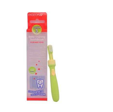 PIGEON Baby Training Toothbrush L-3NO.10110(GREEN) ( PSL-1016676 )