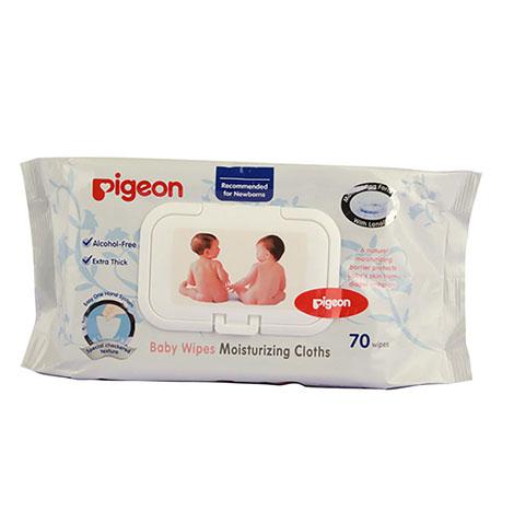 PIGEON Baby Wet Moisturizing Cloth 70`S NO.10828 ( PSL-B007951 )