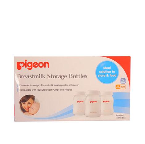 PIGEON Milk Storage Bottle 160ml 3Pcs No.26119 ( PSL-B013550 )
