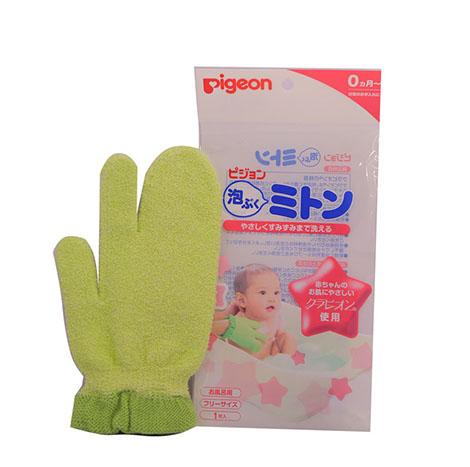 PIGEON Baby Bath Mitten NO.15113 ( PSL-B024316 )