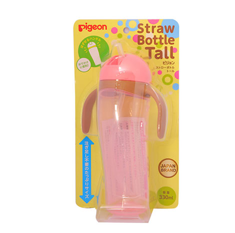 Pigeon Straw Bottle Tall 330ML NO.13755 (PSL-T013431 )