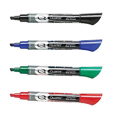 Quartet EnduraGlide Chisel Tip Dry-Erase Markers