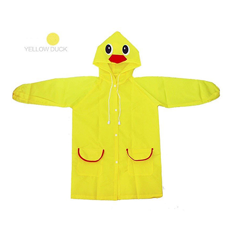 First Place Rain Coat Yellow Duck