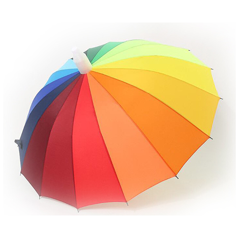 First Place Rainbow Anti-Drip Umbrella