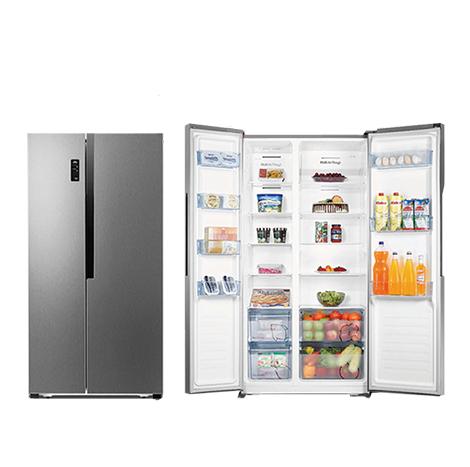 HISENSE 518L Side By Side Fan Type Refrigerator ( RC-67WS4SA )