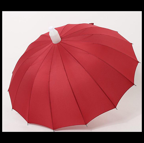 First Place Red Anti-Drip Umbrella
