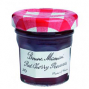 BONNE MAMAN Red Cherry Preserves Jam 370G ( BM02007 )