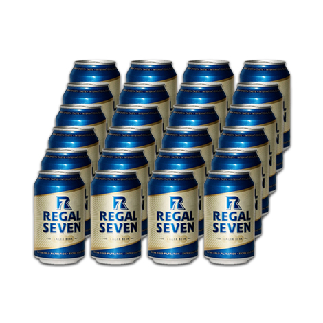 Regal Seven Lager Can 330ml (24)