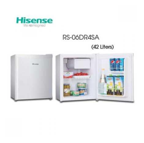 Hisense One Dooe Timer Type Refrigerator 42 Liter (RS-06DR4SA)