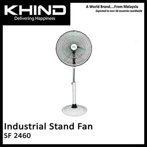 KHIND 24 Inch Industrial Stand Fan ( SF 2460 )