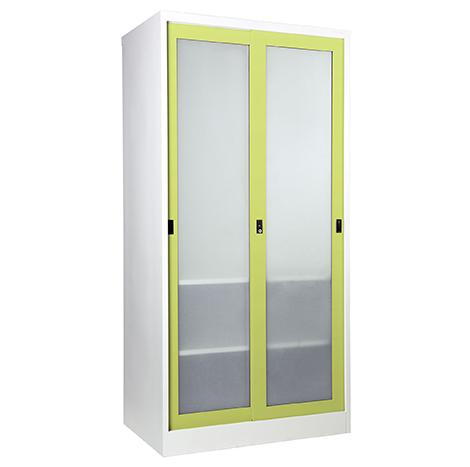 KIOSK Sliding Glass Door Wardrobe ( SGW-18/1 )