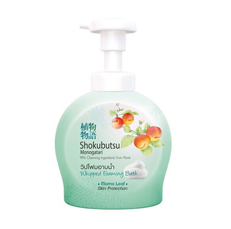 Shokubutsu Monogatari Skin Protection Whipped Foaming Bat ( 450 ml )