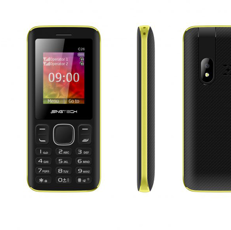 Singtech C 26 ( Black + Orange)