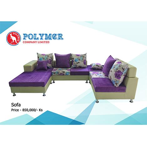POLYMER Sofa ( #PS-03 )