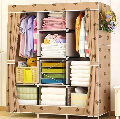 SP Plastic Clothes Wardrobe