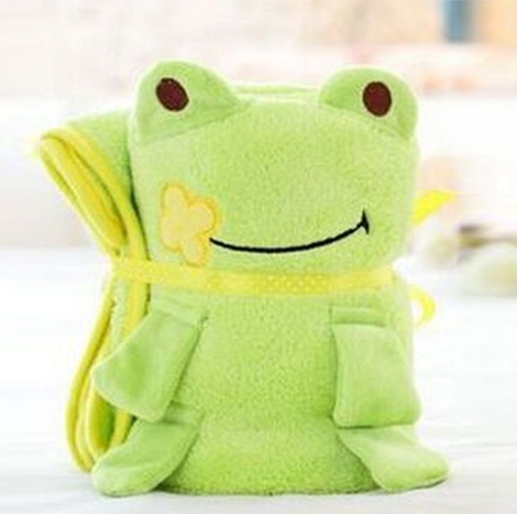 SP Plastic Toy Blanket ( Frog )