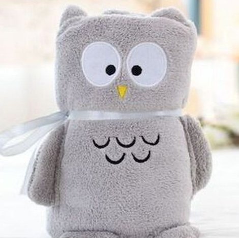 SP Plastic Toy Blanket ( Owl )