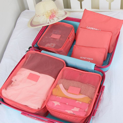 SP Plastic Travel bag set