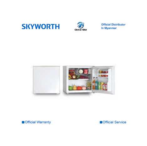 SKYWORTH 60L Mini Bar Refrigerator ( SRS-60DT )